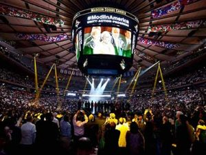 FirstPost: Modi-mania in New York's Madison Square Garden