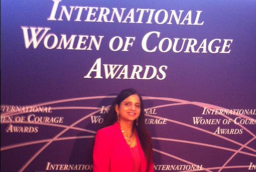 International Women of Courage Award Ceremony in Washington DC