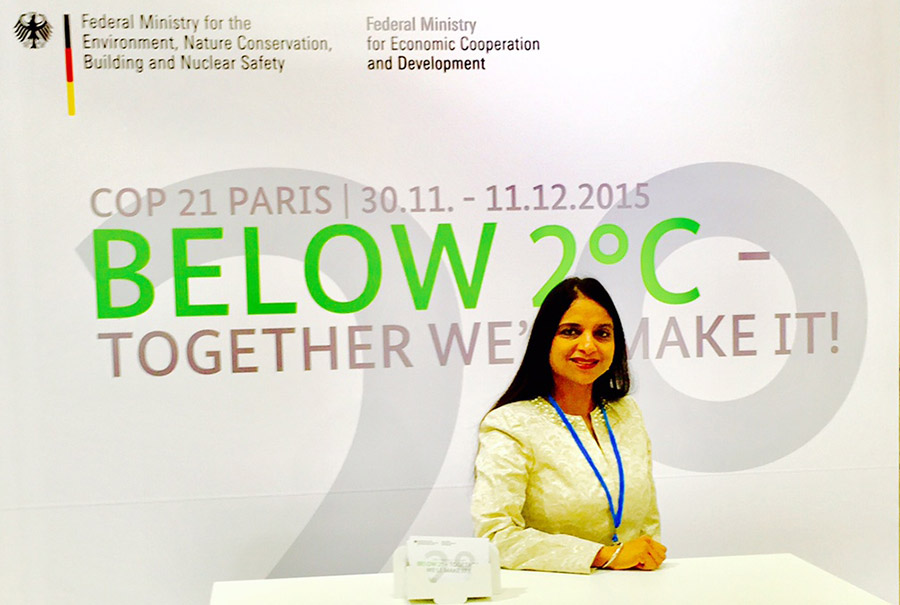 Provided interpretation services at Conference on Climate Change in Paris.