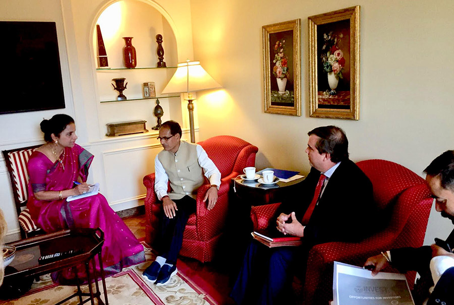 Provided interpretation services for the Chief Minister of Madhya Pradesh in New York and Washington DC