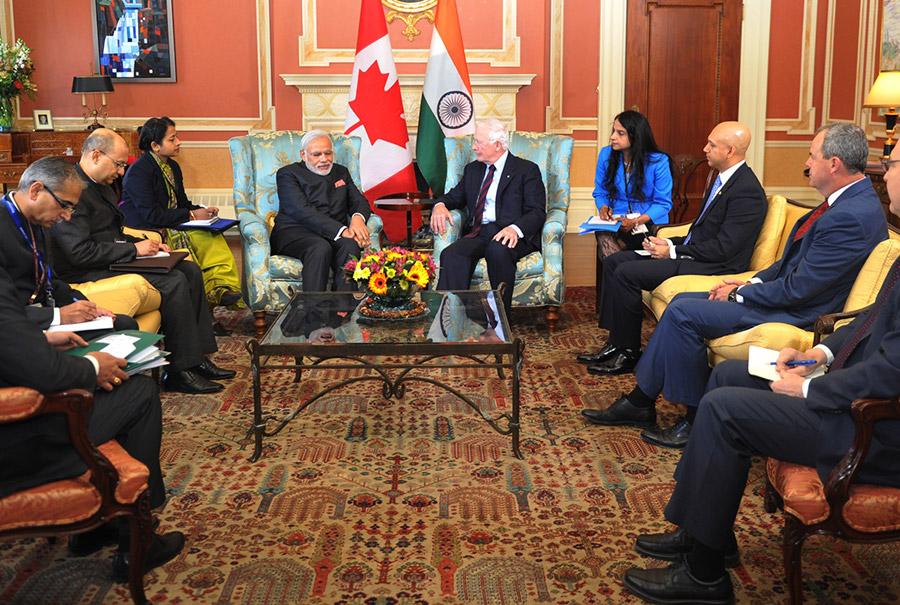 Provided interpretation services for Canada's Governor General Mr David Johnston.