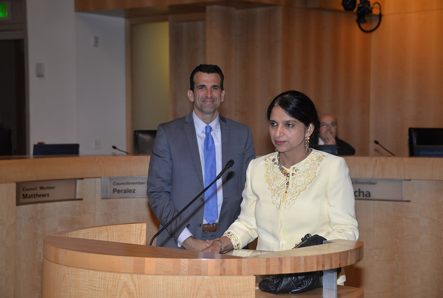 Speech of thanks after receiving Commendation from City of San Jose.