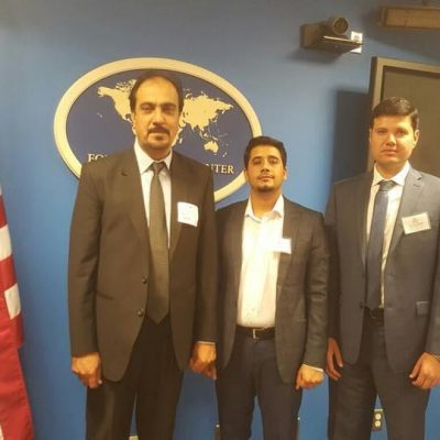 Our Dari Interpreter interpreting for visitors from Afghanistan during Visitors Leadership Program, spearheaded by the Dept of State, Washington DC