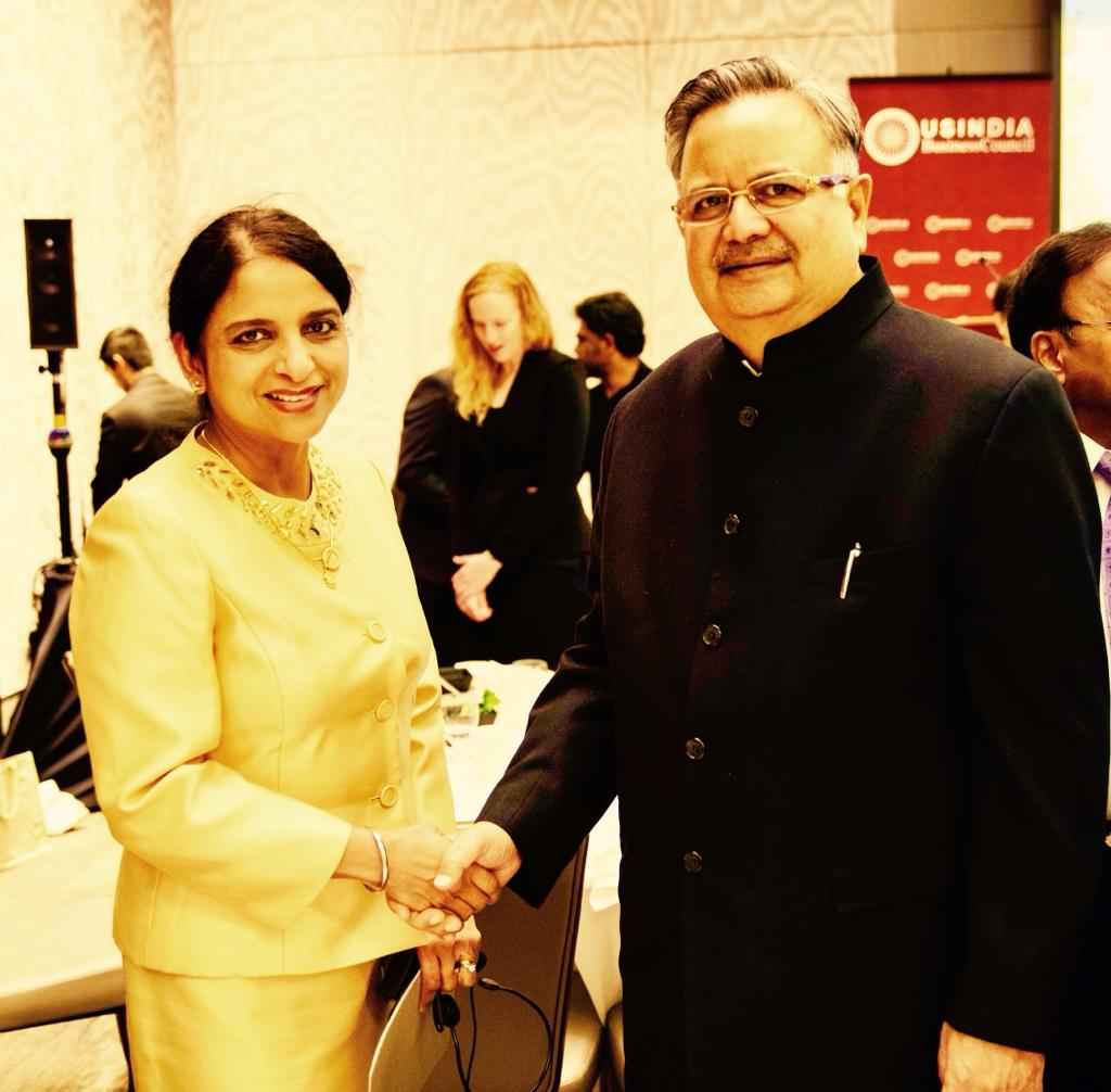 Interpretation Services for Chief Minister of Chattisgarh Dr. Raman Singh